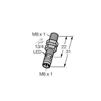 Turck BI1,5-EG08K-AP6X-V1131