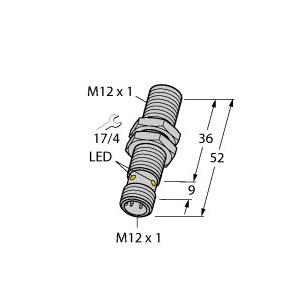 Turck BI4U-EM12WD-AP6X-H1141/3GD