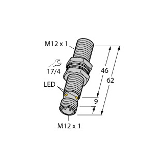 Turck BI4U-M12E-VP44X-H1141