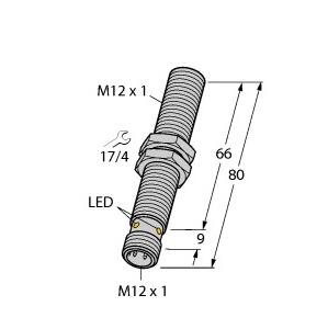Turck BI4U-M12-VP44X-H1141 L80
