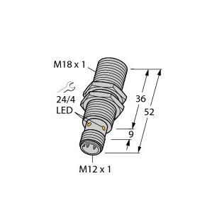 Turck BI8U-EM18WD-AN6X-H1141/3GD