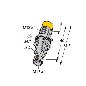 Turck NI15U-M18M-VP44X-H1141