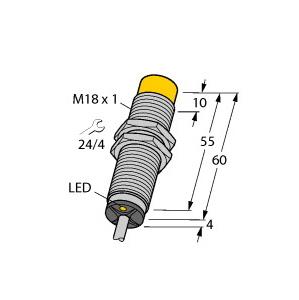 Turck NI15U-M18M-VN44X