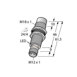 Turck NI15U-EM18MWD-VP44X-H1141