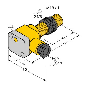 Turck NI12U-P18SK-AP6X