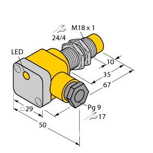 Turck NI10-EG18SK-Y1X