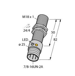 Turck BI5U-G18-ADZ30X2-B1331