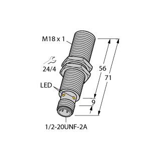 Turck BI5U-G18-ADZ30X2-B3331