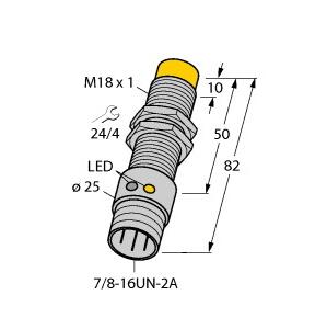 Turck NI12U-G18-ADZ30X2-B1331