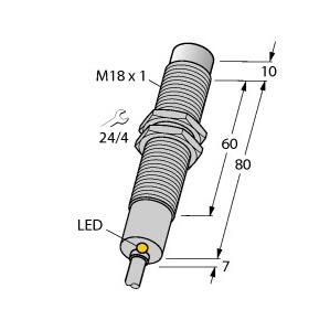 Turck NI8-M18-AZ3X/S120