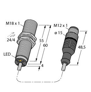 BI5U-MT18M-AD4X-0,3-RS4.23/XOR