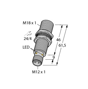 Turck BI5U-M18M-AD4X-H1144