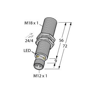 Turck BI8-M18E-VP6X-H1141
