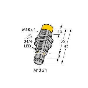 Turck NI14-M18-AN6X-H1141