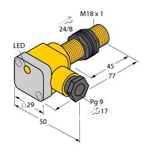 Turck NI10-P18SK-AN6X