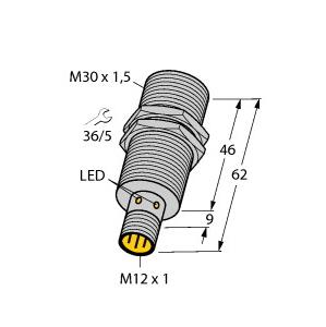 Turck BI15U-M30-VP44X-H1141