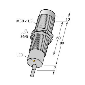 Turck NI15-M30-AZ3X/S120