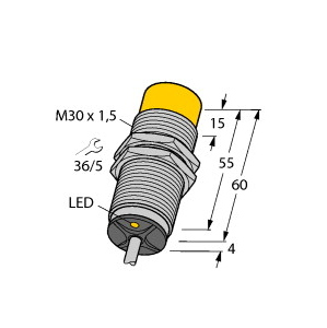 Turck NI15-M30-AD4X