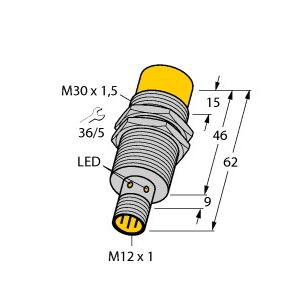 Turck NI15-M30-AD4X-H1141
