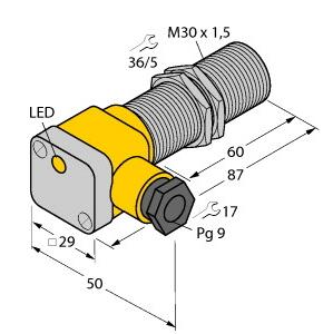 Turck BI10-G30SK-AN6X