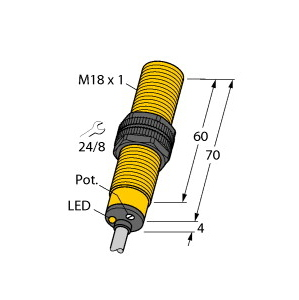 Turck BCF5-S18-RN4X