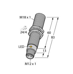 Turck BC5-M18-RP4X-H1141/S250
