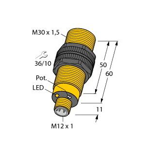 Turck BC10-S30-Y1X-H1141