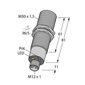 Turck BC10-M30-VN4X-H1141