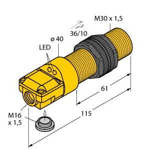 Turck BC10-P30SR-VP4X2/3GD