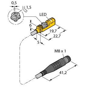 Turck BIM-UNTK-AP6X-0,3-PSG3M