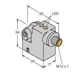 Turck BIM-IKM-AN6X2-H1141/S34