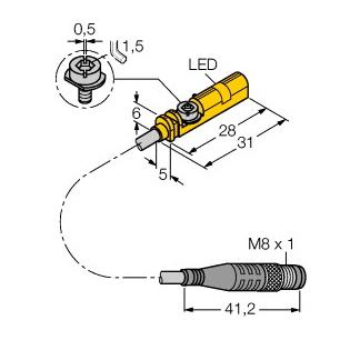 Turck BIM-UNT-AP6X-0,3-PSG3M
