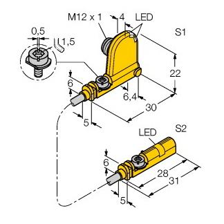 Turck BIM-UNT-0,3-UNT-2AP6X3-H1141