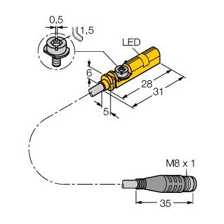 Turck BIM-UNT-AP6X-0,3-PSG3S/S1139