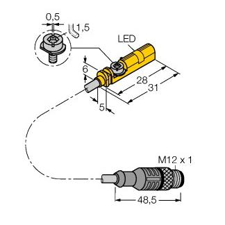 Turck BIM-UNT-AP6X-0,6-RS4/S1160