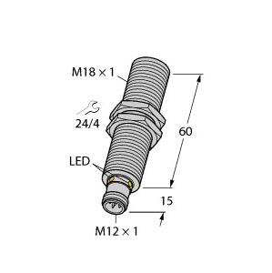 Turck RU130U-M18E-2UP8X2-H1151