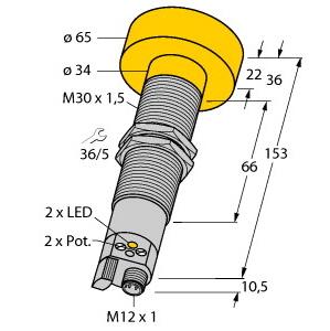Turck RUC600-M3065-LIAP8X-H1151