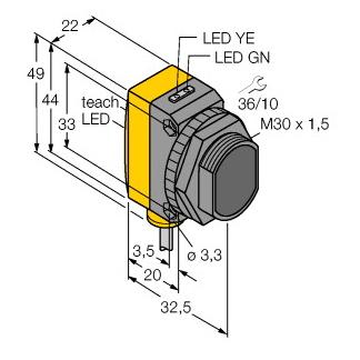 Qs30ldl Turck Sensors By Int Technics