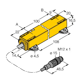 Turck LI100P1-Q17LM1-LIU5X2-0,3-RS5