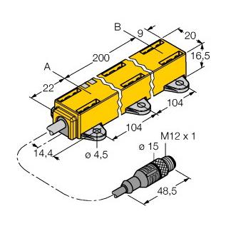 Turck LI200P1-Q17LM1-LIU5X2-0,3-RS5