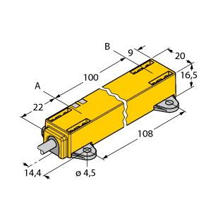 Turck LI100P1-Q17LM1-LIU5X2