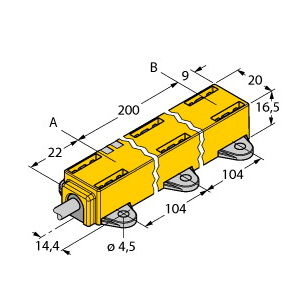 Turck LI200P1-Q17LM1-LIU5X2