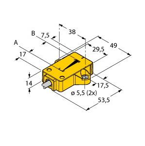 Turck LI25P1-QR14-LIU5X2