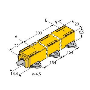 Turck LI300P1-Q17LM1-LIU5X2