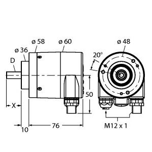 Turck RM-29S6C-9A28B-R3M12