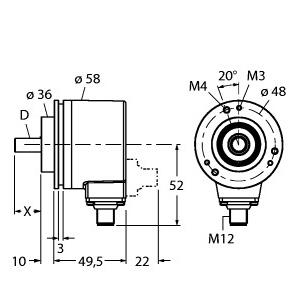 Turck RM-28S10C-3C25B-H1181