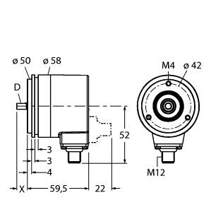 Turck RM-28S6S-3C25B-H1181