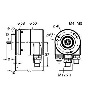 Turck RS-25S10C-9A16B-R3M12