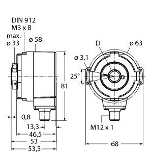 Turck RS-31H12E-3C13B-H1181
