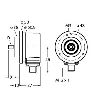 Turck RI-10S10C-2B2500-H1181